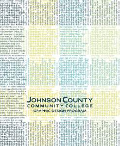 JCCC Graphic Design Promotional Catalogue